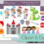 Clipart and Digital Paper Packs