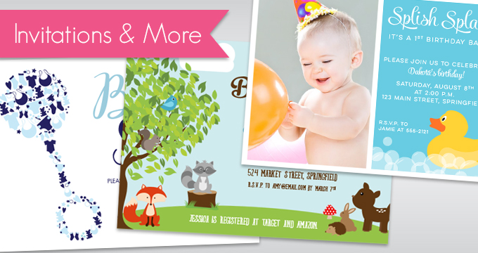 Invitations and Party Printables