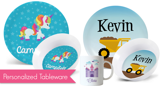 Personalized Tableware