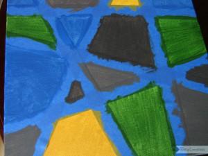 Painters Tape Canvas Art 4