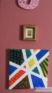 Painters Tape Canvas Art 1