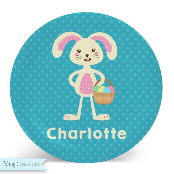 EasterBunny_Girl_Plate