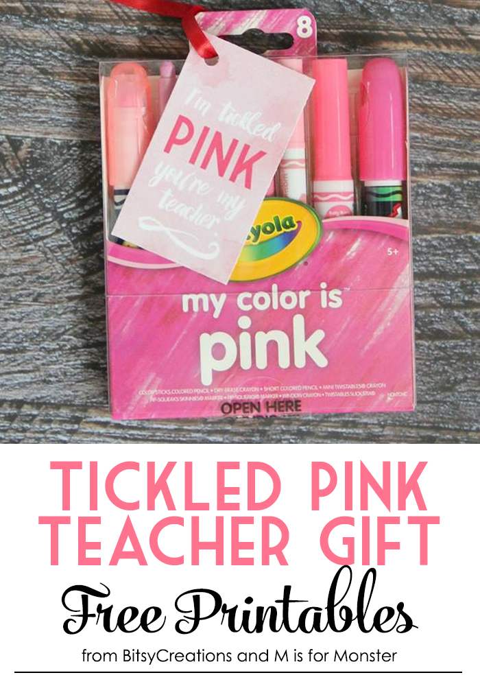 Tickled Pink Free Printables 1