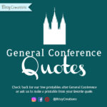 Free General Conference Printables – October 2017