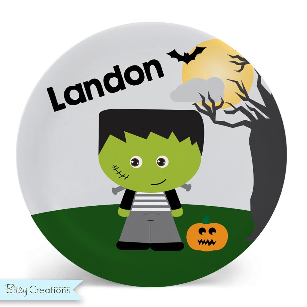 Halloween_Frankenstein_Plate