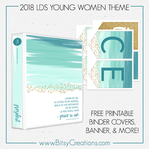 2018 lds young women mutual theme free printables