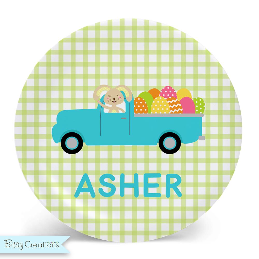 EasterBunnyTruck_Plate